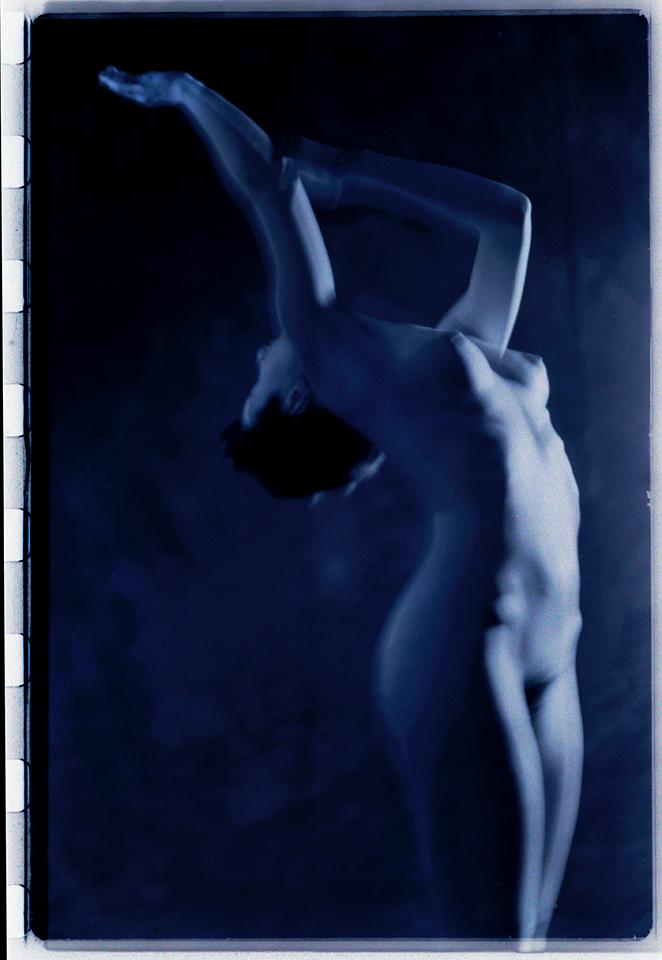 Tanz blau